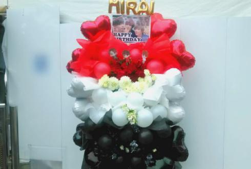 渋谷eggman 未来(ミライ) 古川龍慶様&蔵田尚樹様&橋口巧様の生誕祭祝いフラスタ