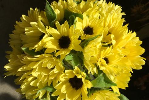 池袋レストラン 誕生日祝い花束