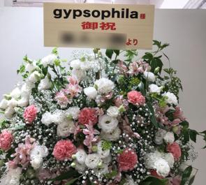 渋谷マルイ gypsophila(ジプソフィア)様のポップアップショップOPEN祝いスタンド花