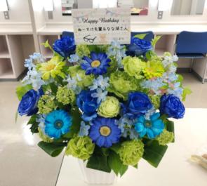 光が丘IMAホール ぬーすけ先輩 & なな湖様のゲーム実況者イベント出演祝い&誕生日祝い花