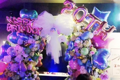 渋谷freedom 徒花TOXiC たくと様の生誕祭祝いアーチ