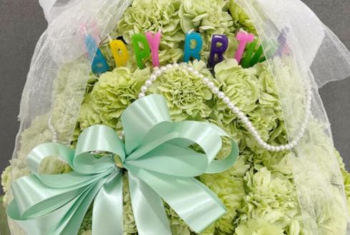 池袋新星堂 サンシャインアルタ店 TOONBOYS結木奏太様のインストアライブ公演祝い&誕生日祝い花 フラワーケーキ