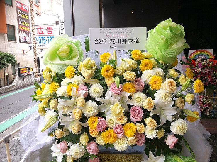 duo MUSIC EXCHANGE 22/7花川芽衣様の『ナナニジフェス 2019』フラスタ