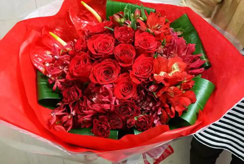 白金高輪SELENE b2 chuLa夏目みさき様の生誕祭祝いライブ中お渡し花束