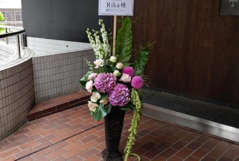 原宿CAPSULE Rika様の映画「つどうものたち」上映会舞台挨拶祝い籠スタンド花
