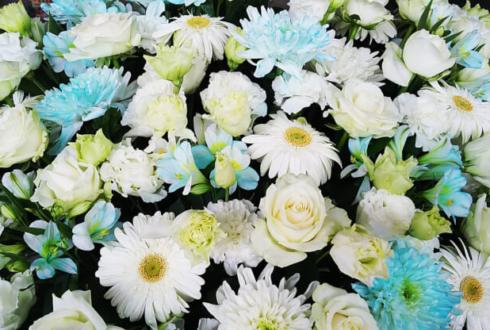 幕張メッセ 道井悠様のナナシス5thLive出演祝いアイアンスタンド花