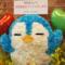 pixiv WAEN GALLERY 裕様の初個展『十人十色とヒミツの扉』祝い花 ペンギンモチーフ
