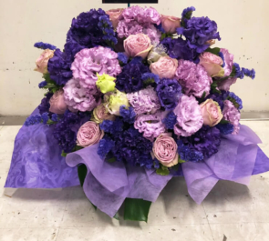 紀伊国屋サザンシアターTAKASHIMAYA 村上幸平様の舞台「大悲」出演祝い花