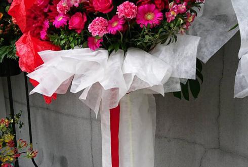 シアターKASSAI 千歳ゆう様の舞台『彼は誰に哂う朝顔』出演祝いフラスタ red
