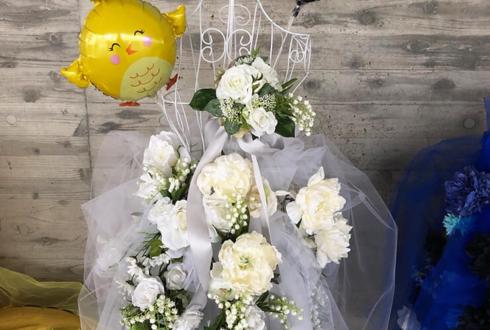 幕張メッセ Le☆S☆Ca 上杉・ウエバス・キョーコ役 井上ほの花様のナナシス5thLive トルソーフラスタ