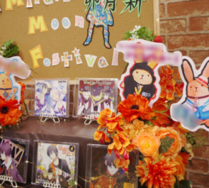 幕張メッセ 卯月新様のツキウタムンフェス出演祝いCDディスプレイフラスタ