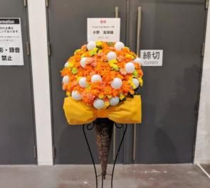 豊洲PIT 小野友樹様のライブ公演祝いコーンスタンド花