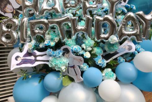原宿ストロボカフェ みこいす様の生誕祭祝いバルーンフラスタ