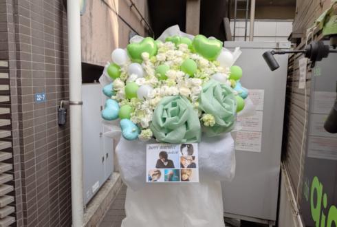 恵比寿club aim KU≒MO toshi@様のライブ公演祝いフラスタ