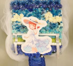さいたまスーパーアリーナ 野々原茜役 小笠原早紀様のミリオン6th出演祝い空雲島海モチーフフラスタ