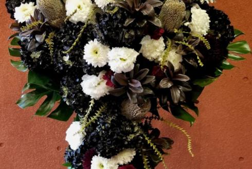 東京芸術劇場 安川純平様の舞台「毛皮のマリー」出演祝いスタンド花