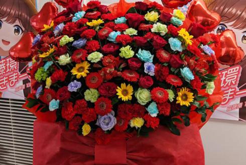 岩本町芸能社特設会場 白藤環様の誕生祭祝いフラスタ