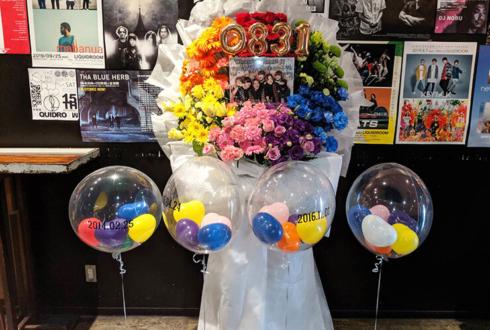恵比寿LIQUIDROOM *ChocoLate Bomb!!様のライブ公演祝いフラスタ