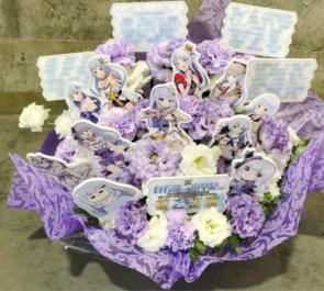 さいたまスーパーアリーナ EScape白石紬役 南早紀様のミリオン6th出演祝い楽屋花