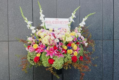 EX THEATER ROPPONGI MISIA SOUL JAZZ SESSION SWEET & TENDER 公演祝いスタンド花