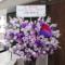 ビルボードライブ東京 高橋紫微様のPrimoDeliciousLive出演祝いハートアイアンスタンド花