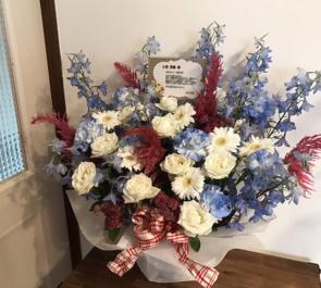 幕張メッセ 日向坂46二期生 小坂菜緒様の握手会祝い花