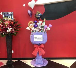 TOKYO DOME CITY HALL SUPERNOVA ゴニル様のファンミ「☆博10」祝いシャンパングラスフラスタ