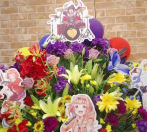 幕張メッセ 喜多見柚役 武田羅梨沙多胡様のシンデレラ7thライブ公演祝いスクエア型フラスタ