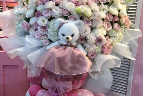 LiQumu原宿店 兎遊様の誕生祭祝いフラスタ