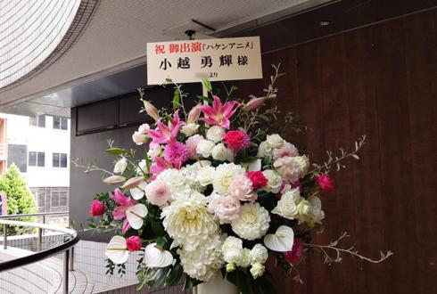 紀伊國屋ホール 小越勇輝様の舞台『ハケンアニメ!』出演祝いスタンド花
