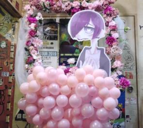 新宿ANTIKNOCK 窓付き@様のライブ公演祝いフラスタ