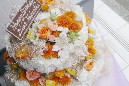 高田馬場LiveCafemono カケリネ様のバースデーライブ公演祝い花 BDフラワーケーキ