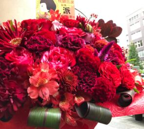 俳優座劇場 安西慎太郎様の舞台崩壊シリーズ『派 FACTION』出演祝い楽屋花