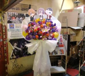 新宿ANTIKNOCK 窓付き@様&おっちくん様&runa様のライブ公演祝い花束風スタンド花
