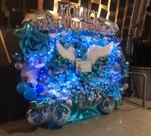 六本木morph-tokyo AlbaNox こうきくんの生誕祭祝い連結フラスタ