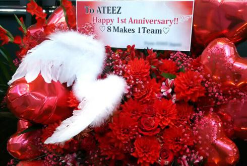 マイナビ BLITZ 赤坂 ATEEZ様のリリイベ祝いフラスタ
