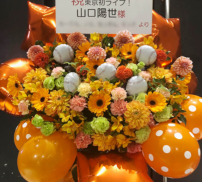 ZeppDivercity 坂道研修生 山口陽世様の「坂道グループ合同研修生ツアー」出演祝いフラスタ