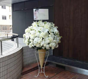 幕張メッセ 乃木坂46 堀未央奈様の握手会祝いコーンスタンド花