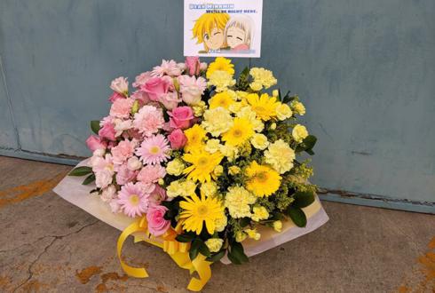 幕張メッセ 乃木坂46 梅澤美波様の握手会祝い楽屋花