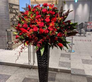 LINE CUBE SHIBUYA ちゃんみな様のライブ公演祝いアイアンスタンド花