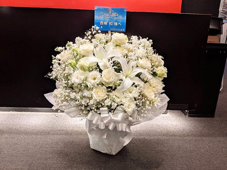 Mt.RAINIER HALL SHIBUYA PLEASURE PLEASURE 22/7 西條和様のライブ公演祝い楽屋花