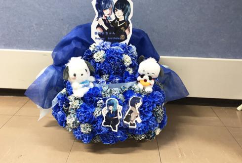 サンリオピューロランド 蒼井叶様の生誕祭祝い楽屋花 フラワーケーキ2段