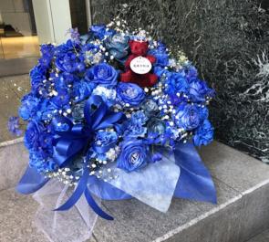 Mt.RAINIER HALL SHIBUYA PLEASURE PLEASURE 高井千帆様のリリイベ祝い楽屋花