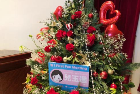 兒玉遥様のファンミーティング開催祝いXmasツリーフラスタ @品川プリンスホテル Club eX