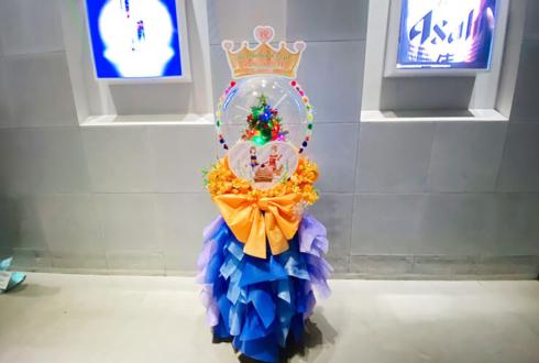22/7 倉岡水巴様のBirthday Event 2019出演祝いスノードームフラスタ @ZeppDivercityTokyo