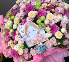 成澤愛実様のザ・コインロッカーズ 1st Anniversary LIVE公演祝いフラスタ @ZeppTokyo