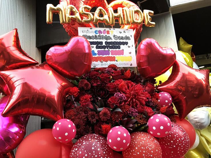 チームカデット 長田真英様のALL JBA 2019 AUTUMN TOUR出演祝いフラスタ @柏PALOOZA