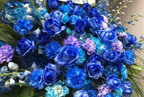 New Club Ria様の1周年祝いアイアンスタンド花