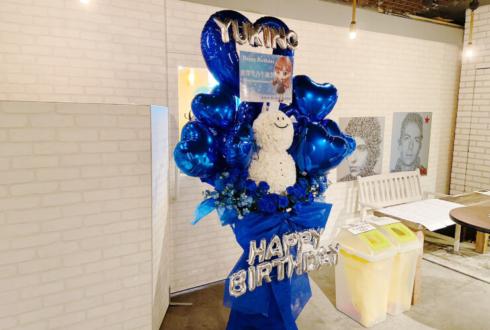 Aphrodite 倉澤雪乃様の生誕祭祝い雪だるまモチーフフラスタ @代官山SPACE ODD
