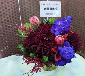 大黒摩季様のバースデーライブ公演祝い楽屋花 @恵比寿アクトスクエア